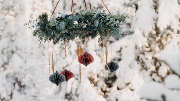 julpynt finaste julkulorna och julbelysningen