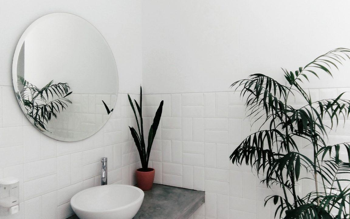 badrumsinspiration för litet badrum