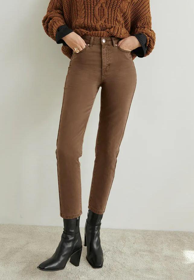 Bruna mom jeans loose