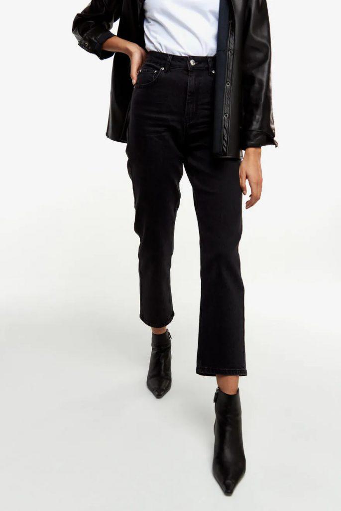 Svarta loose jeans