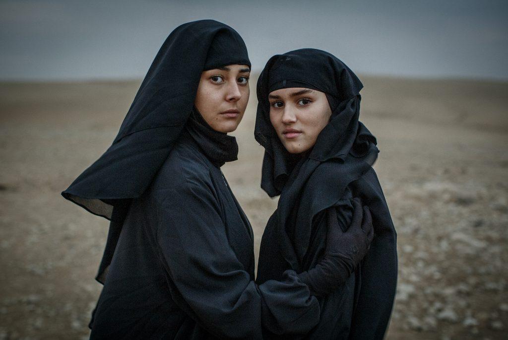 Kalifat serien filmar i Jordanien