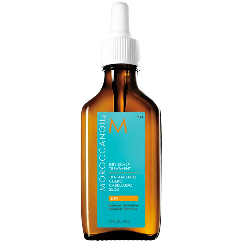 Återfuktande olja för torr hårbotten