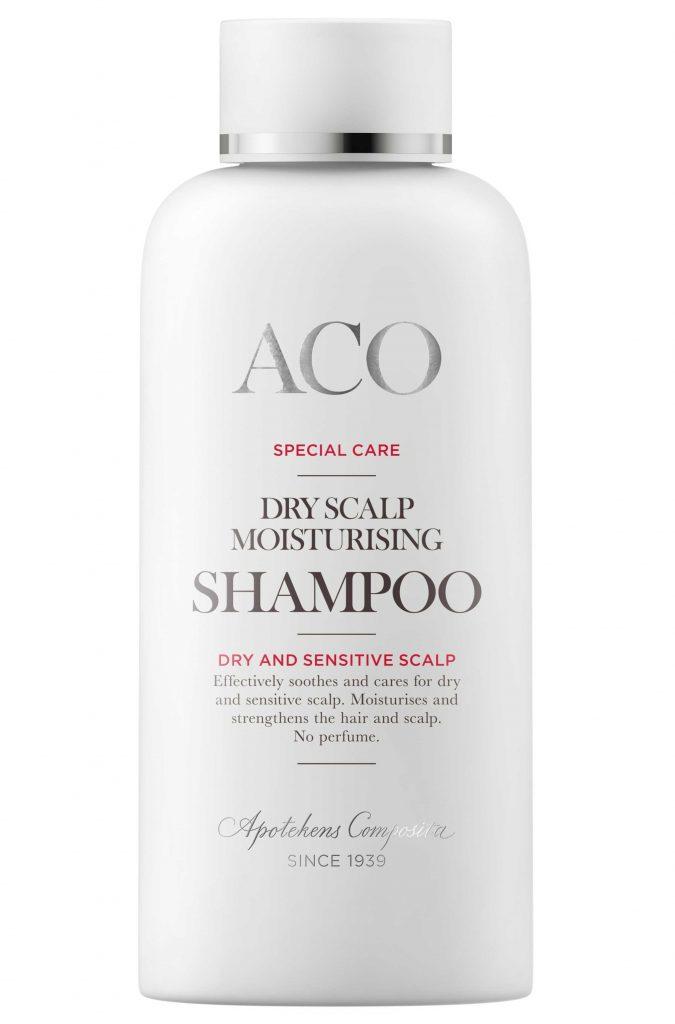 Schampo för torr hårbotten från ACO