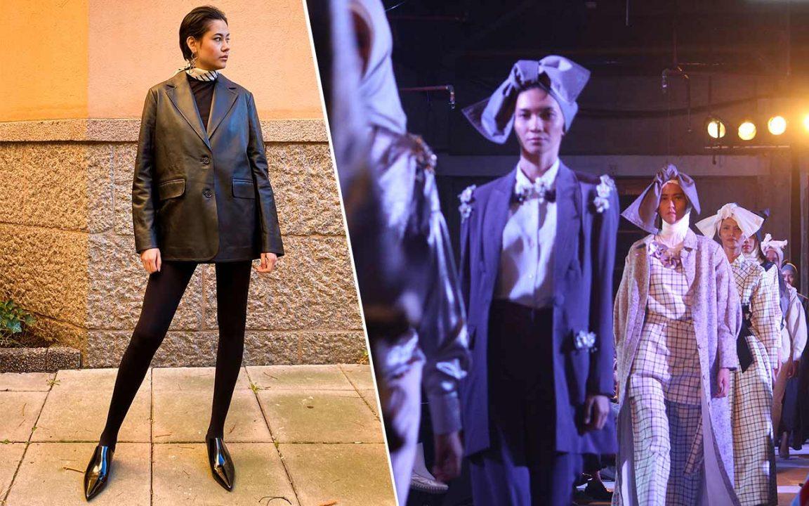kostymer för dam våren 2020 - från vita till färgglada