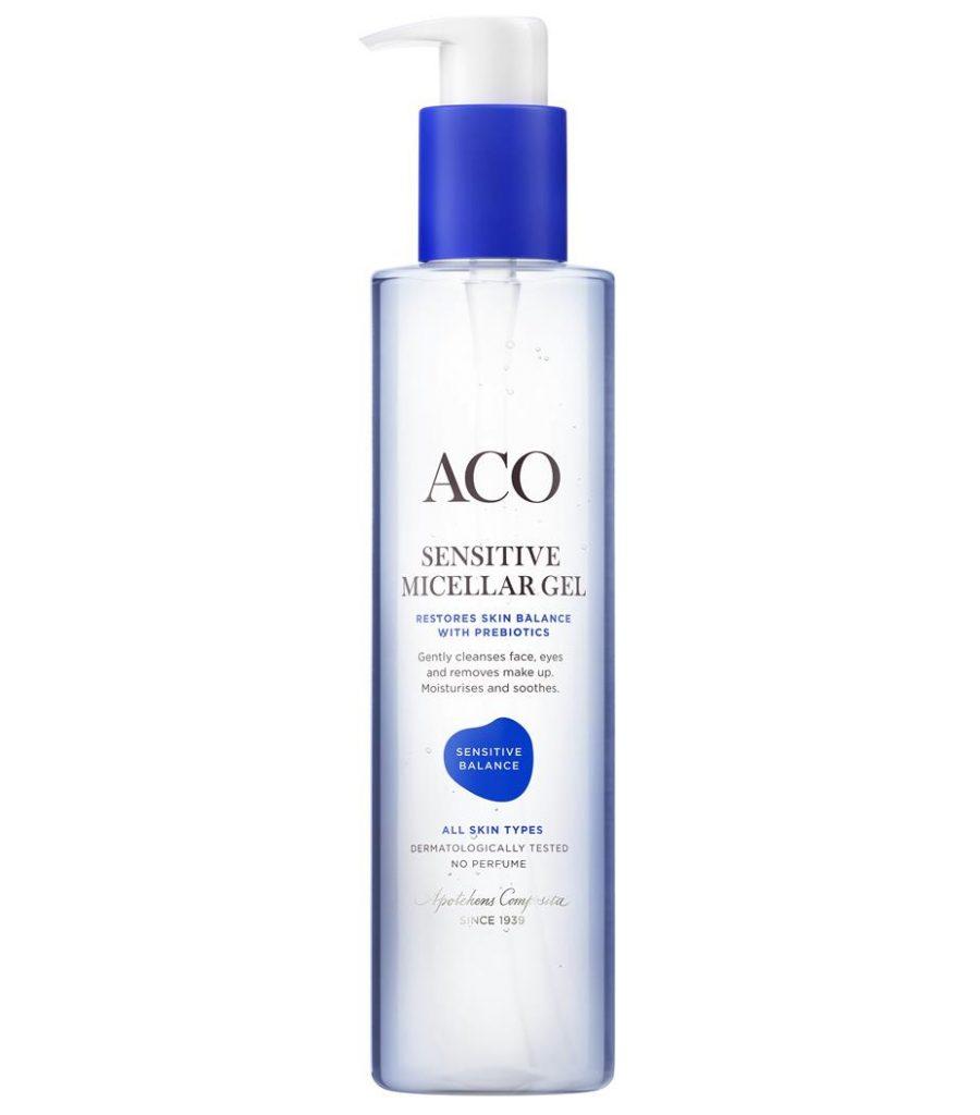Ansiktsrengöring för känslig hud från ACO