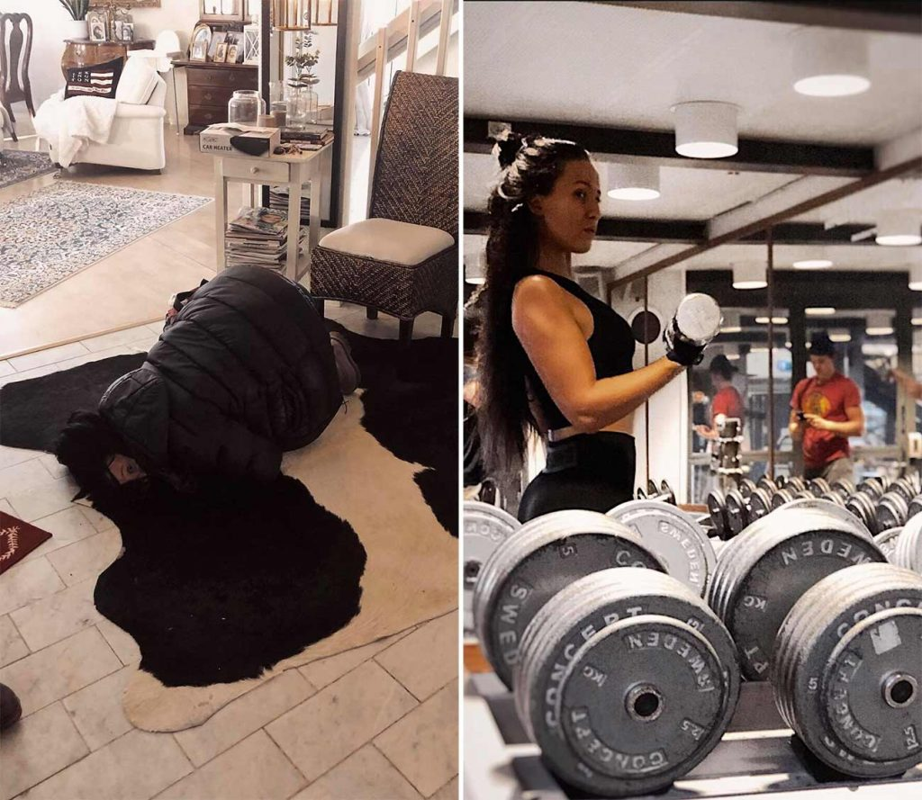Hur det är att träna med endometrios