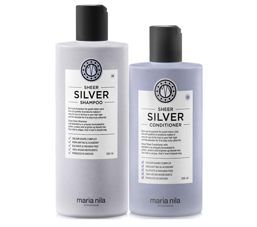 Silverschampo och balsam från Maria Nila