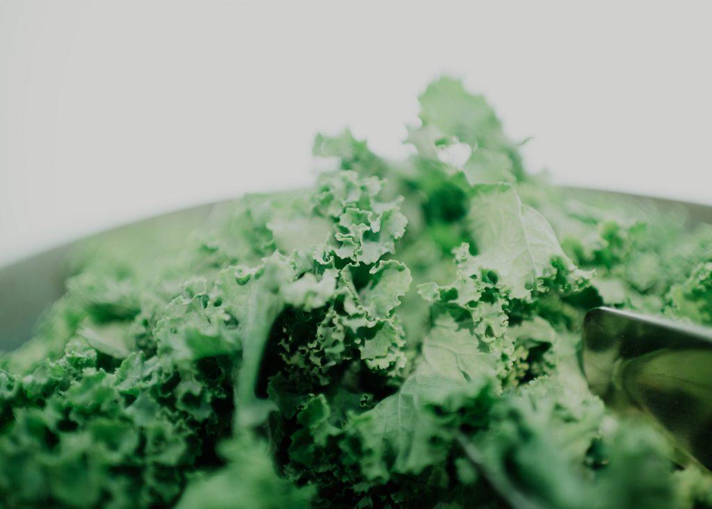 grönkål i ugn och varmluftsugn