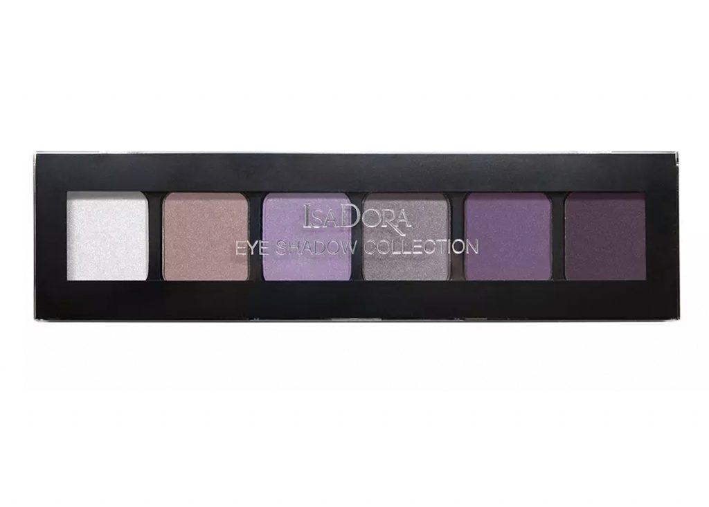 lila ögonskugga palett från isadora