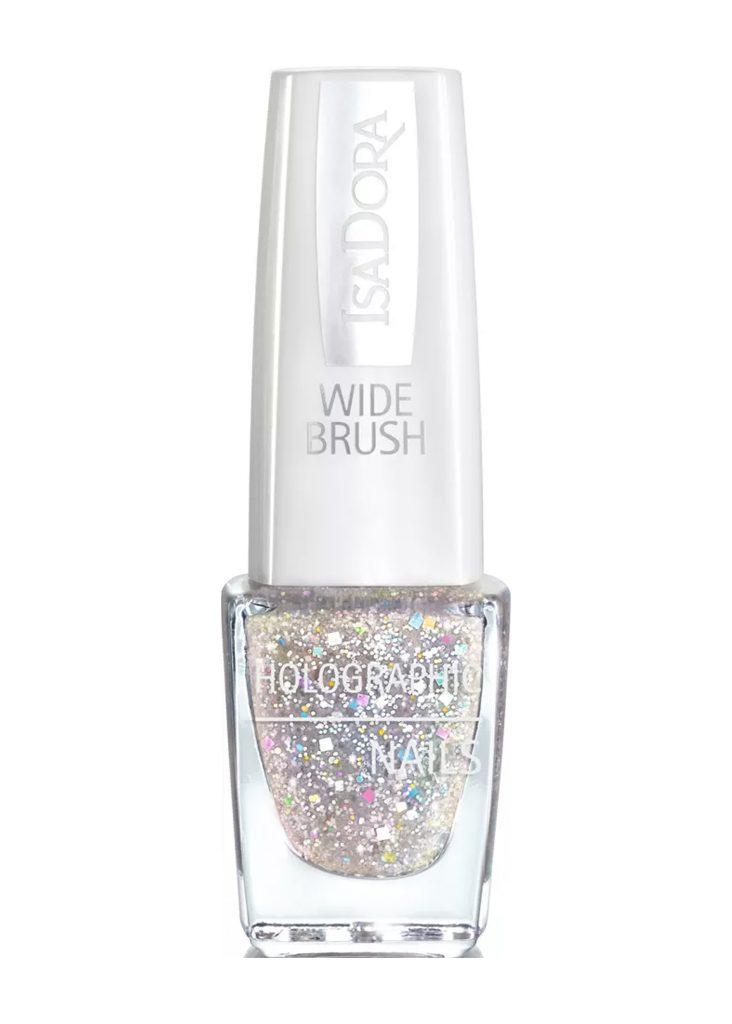 nagellack med glitter isadora