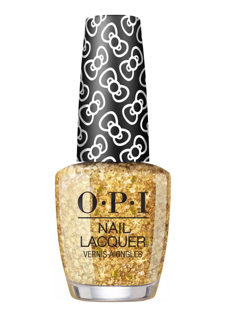 nagellack med glitter opi 1