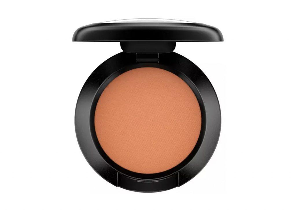 orange ögonskugga palett från mac