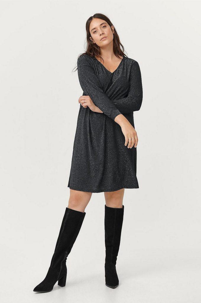 Kort klänning plus size från Ellos plus size