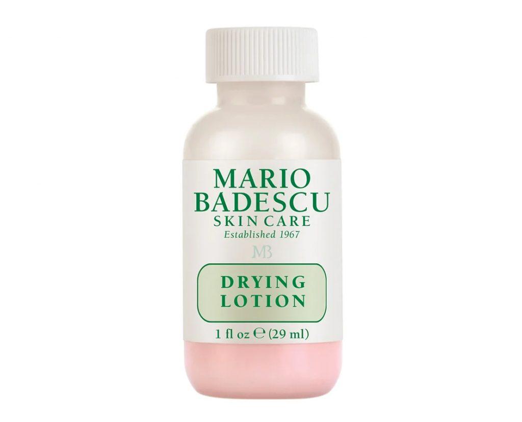 Punktbehandla finnar med Drying Lotion från Mario Badescu