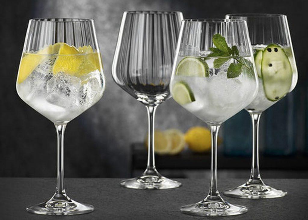 gin och tonic glas