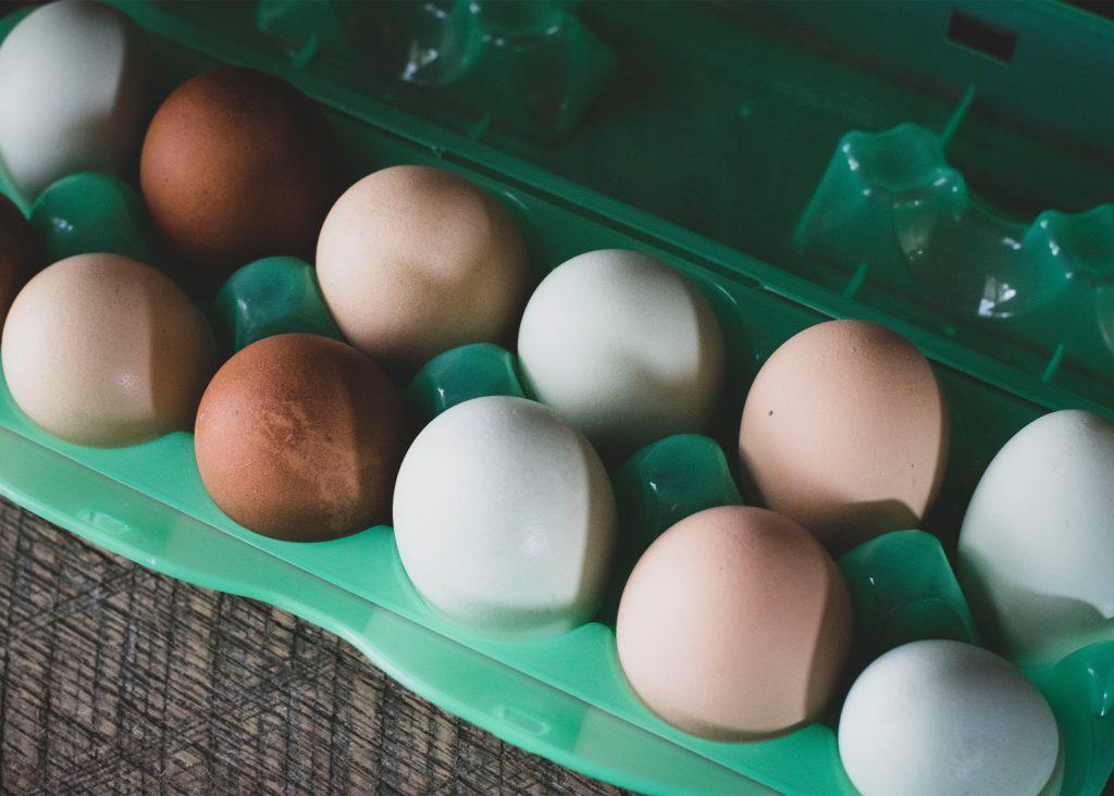 hur mycket väger ett ägg