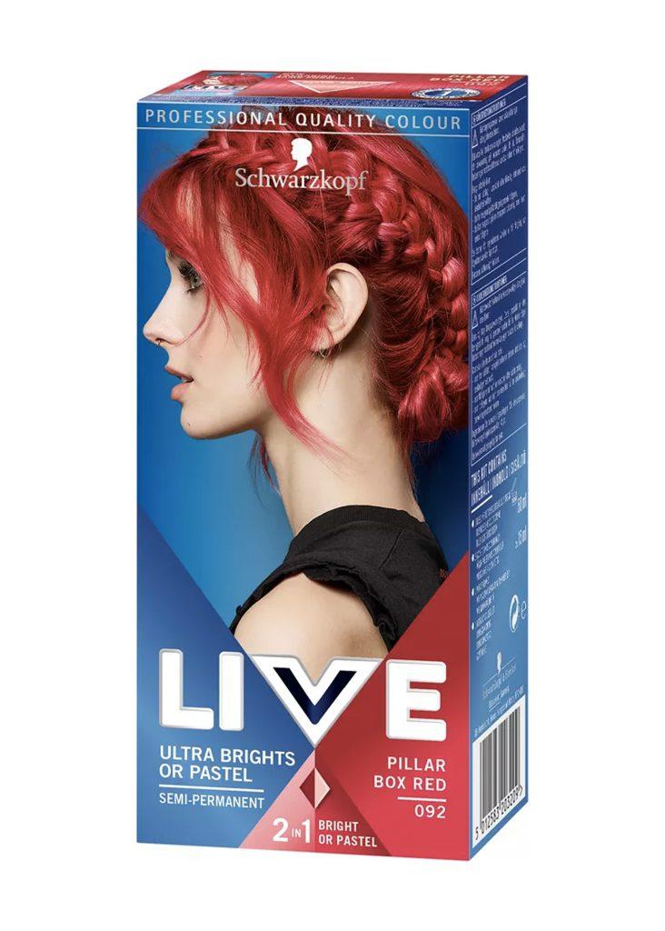 röd hårfärg och trender frisyrer 2020
