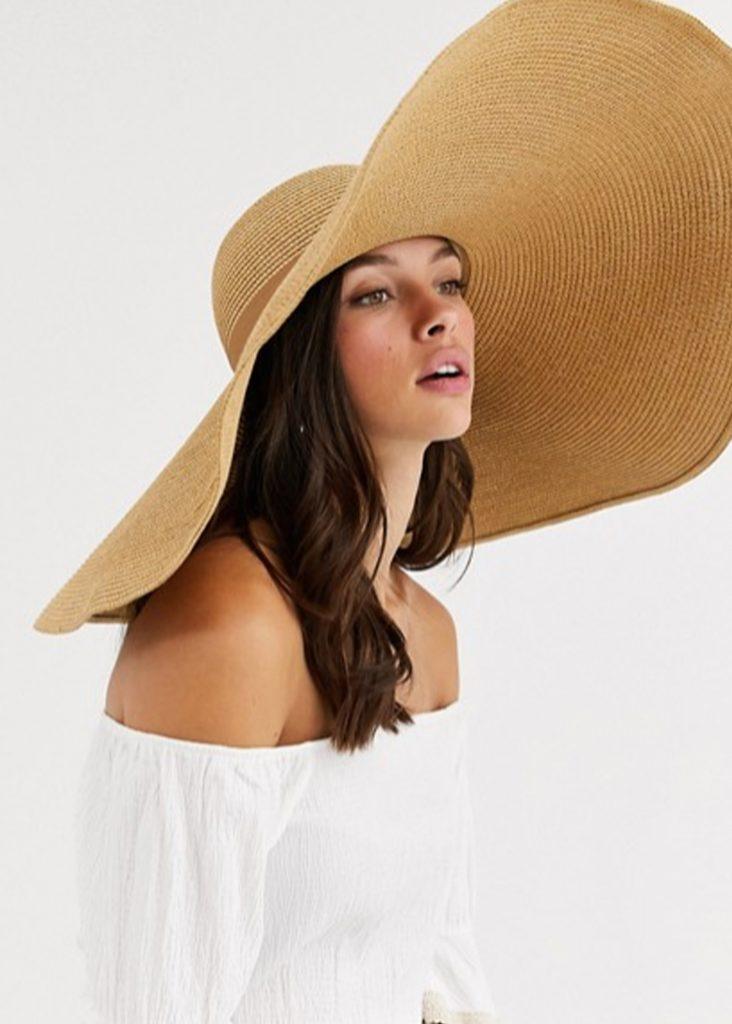 stråhatt och solhatt för dam 1