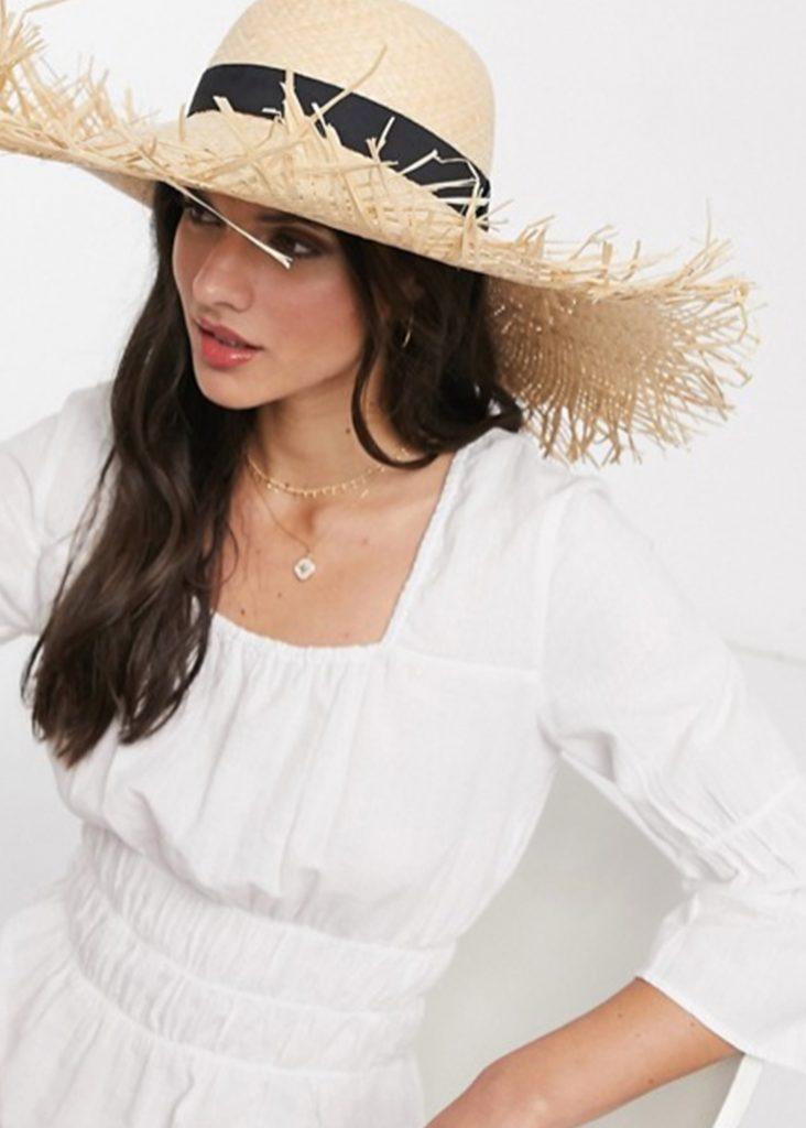 stråhatt solhatt för dam