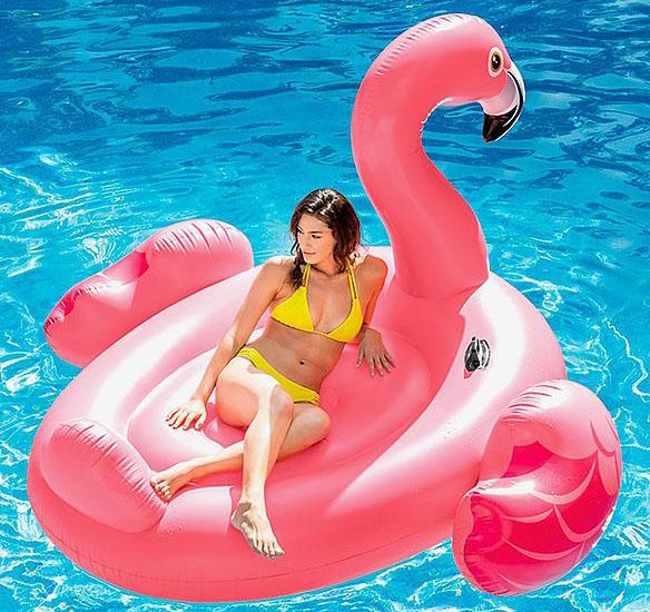 uppblasbar flamingo