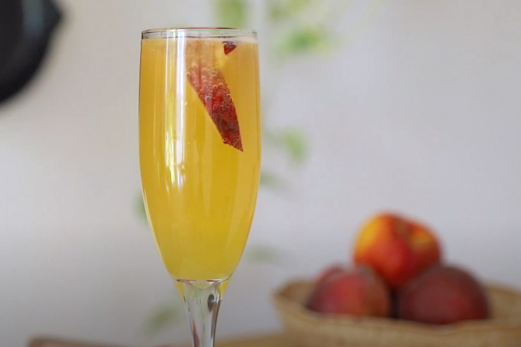 Bellini mimosa drink recept