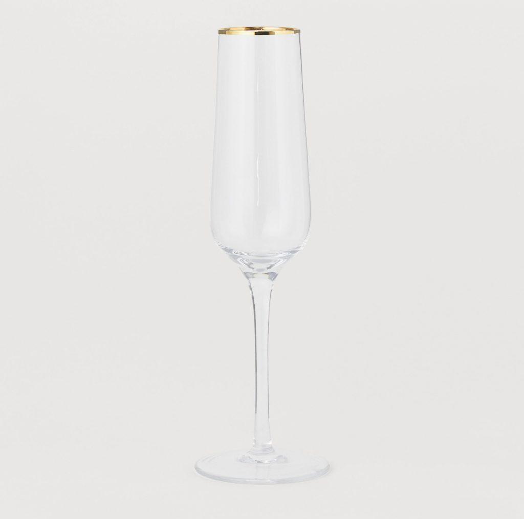 Champagneglas till mimosa