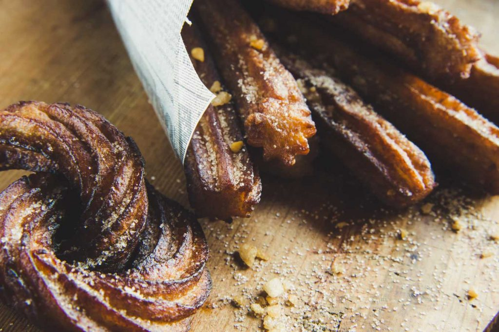 Recept churros med nutella eller utan ägg