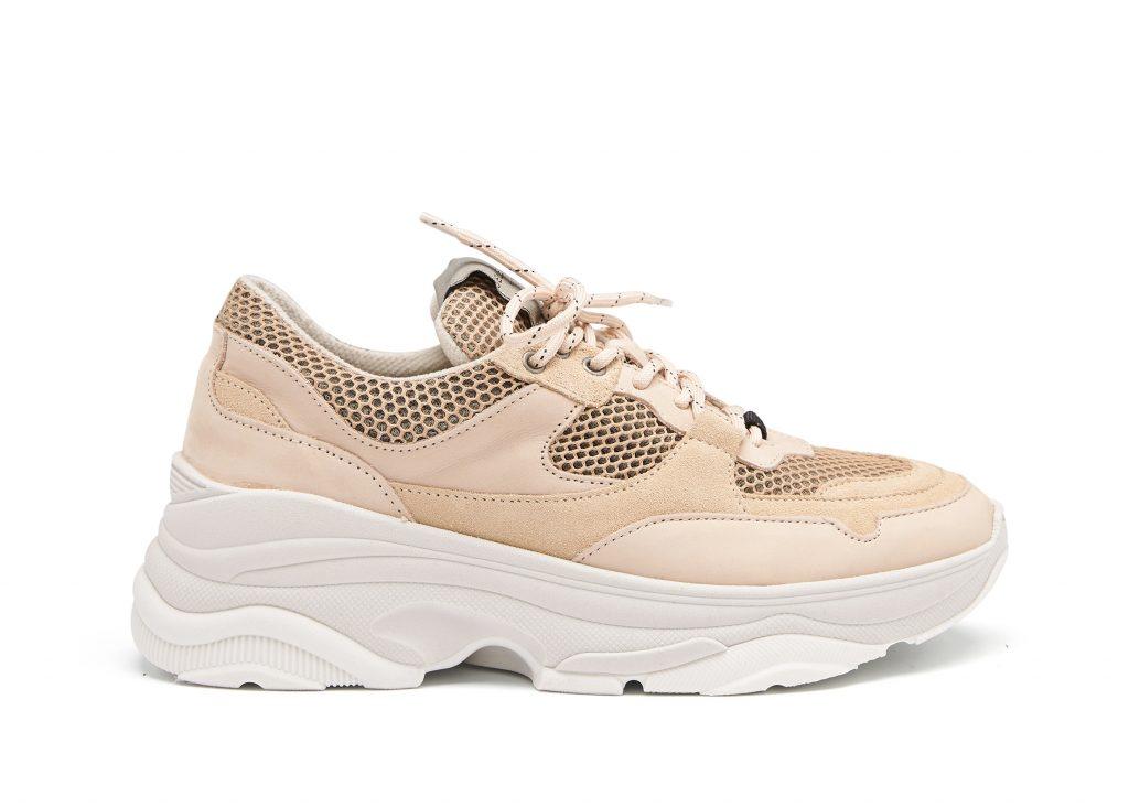 beige sneakers gympaskor för dam