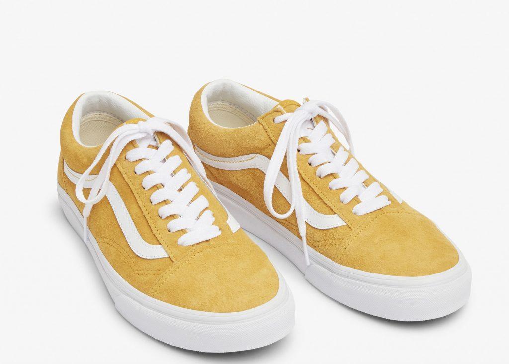 gula sneakers för dam våren 2020