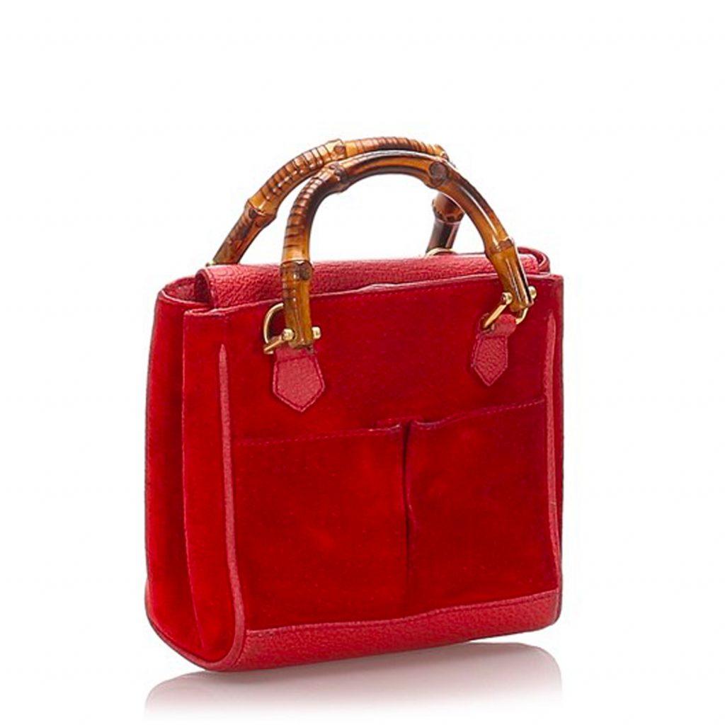 röd gucci väska begagnad
