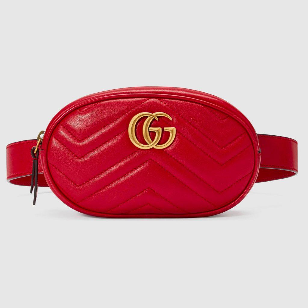 röd gucci väska designerväska
