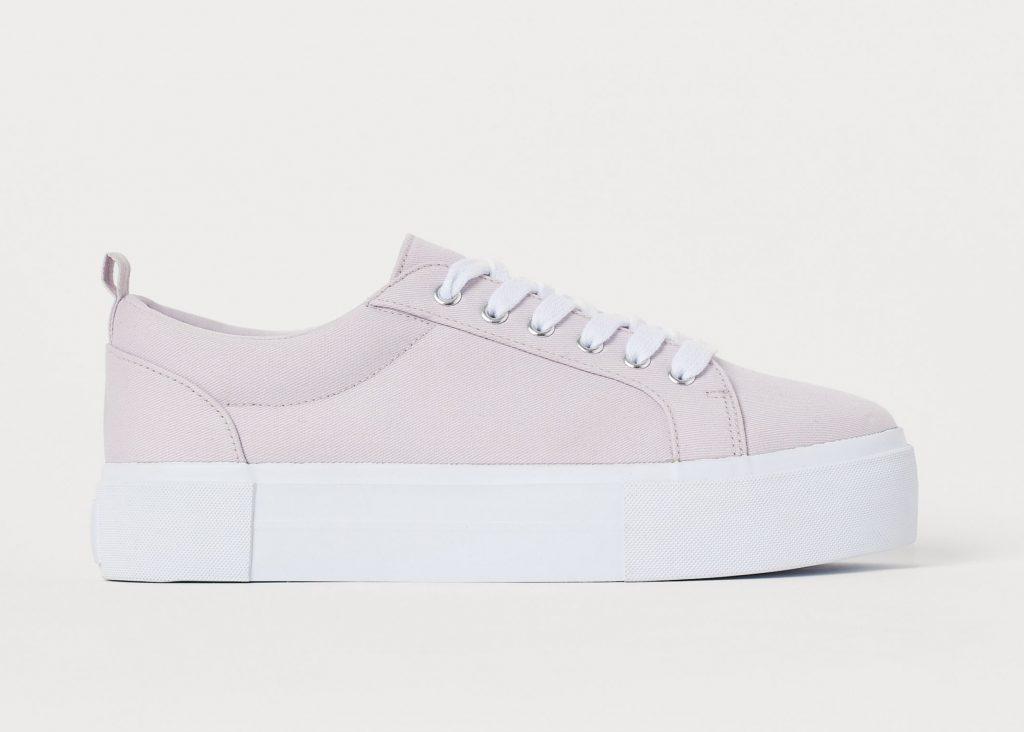 rosa populära sneakers för dam