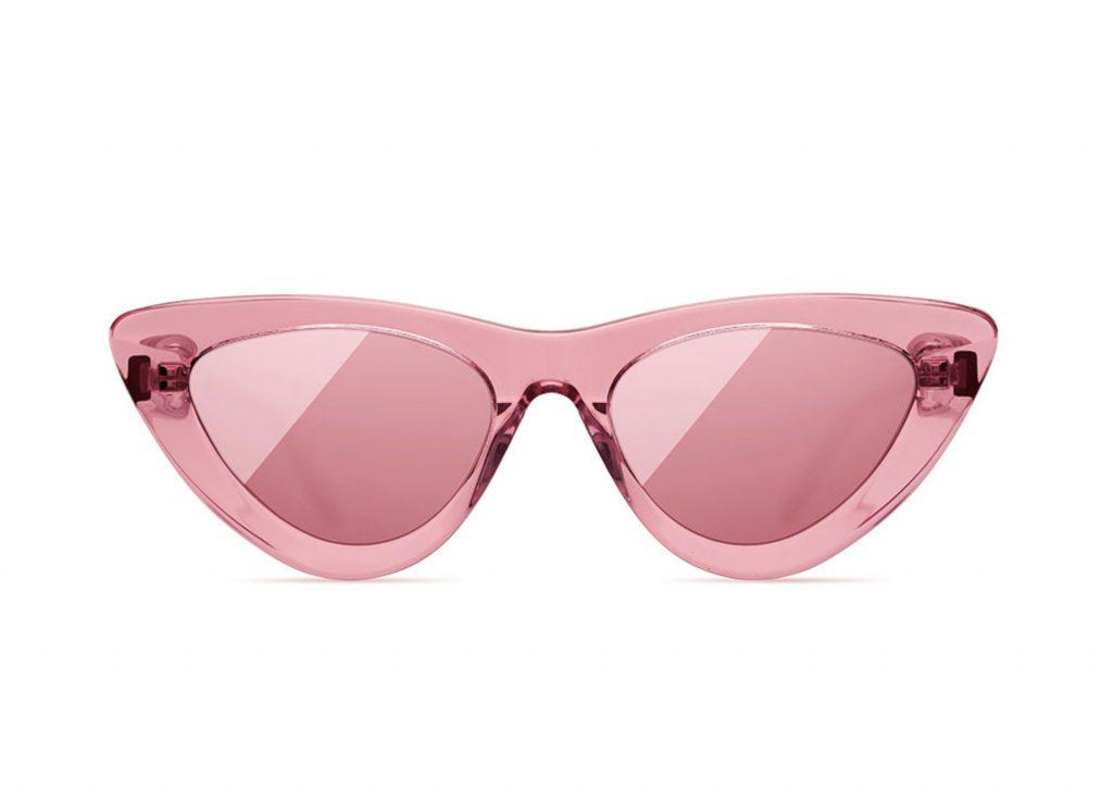 rosa solglasögon för dam 2020