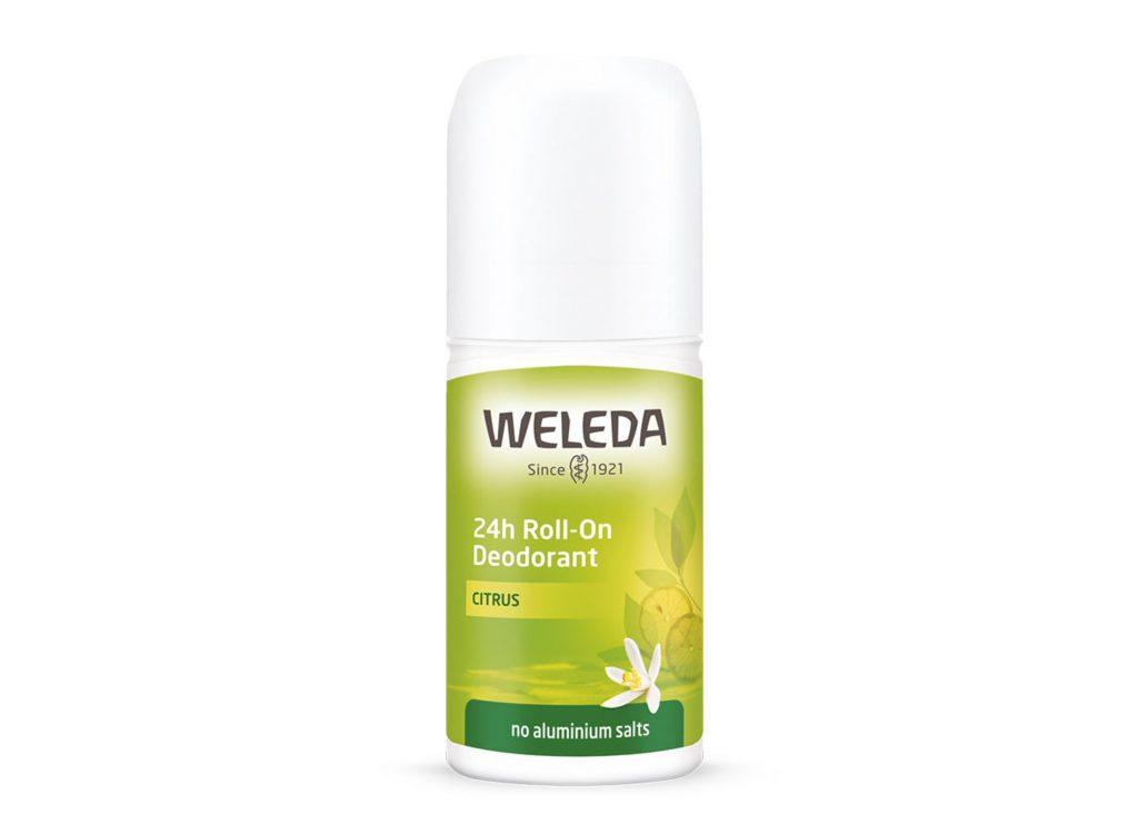 citrus deodorant lime weleda