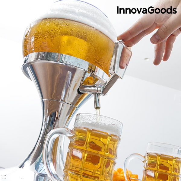 innovagoods cooling beer dispenser