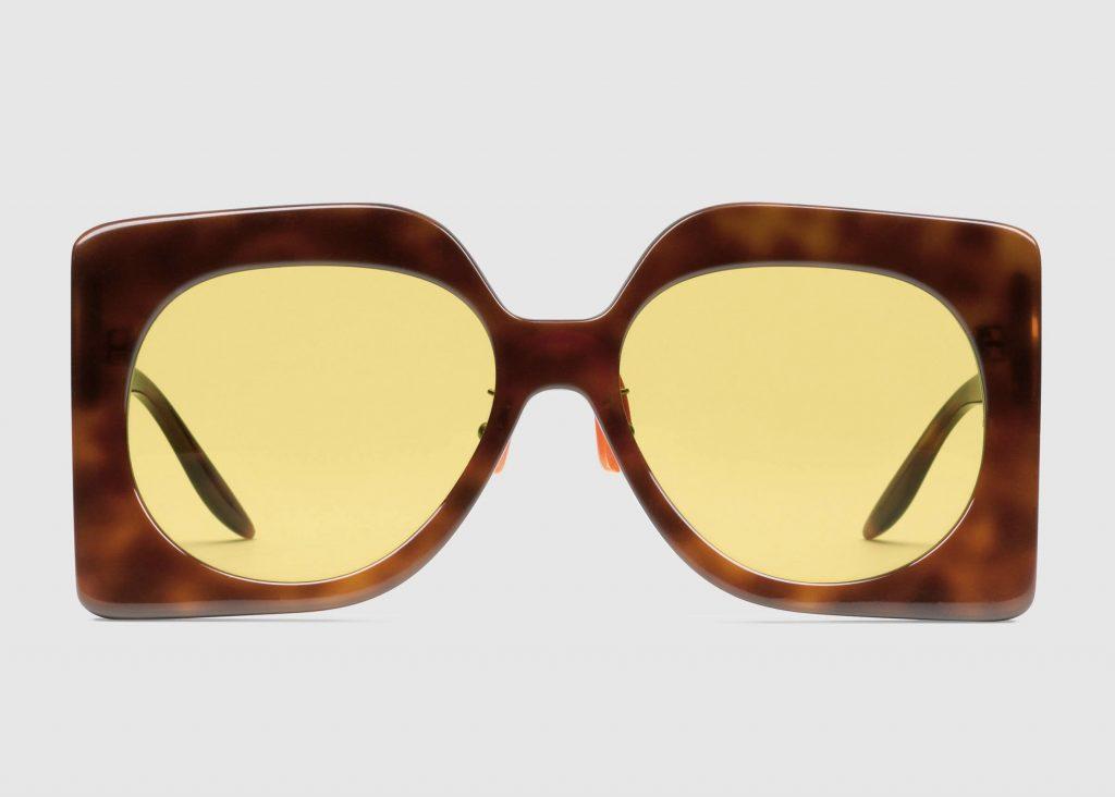solglasögon för dam från gucci