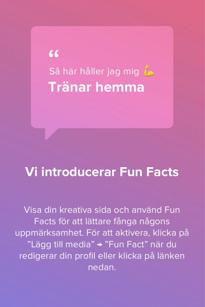 tinder fun facts