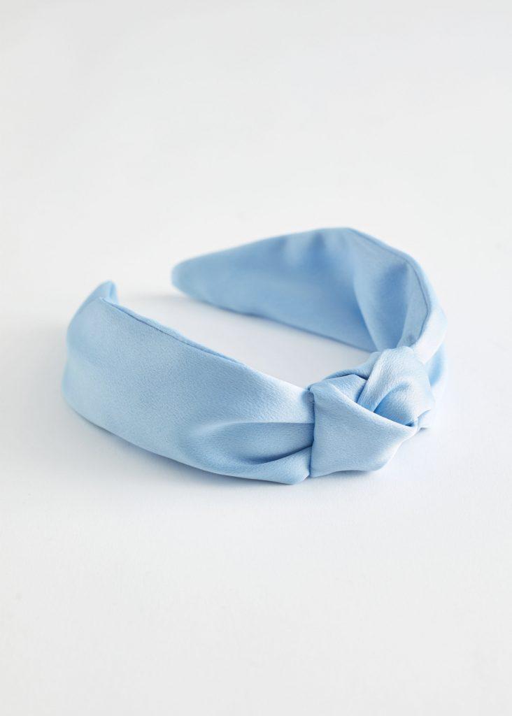 blått diadem
