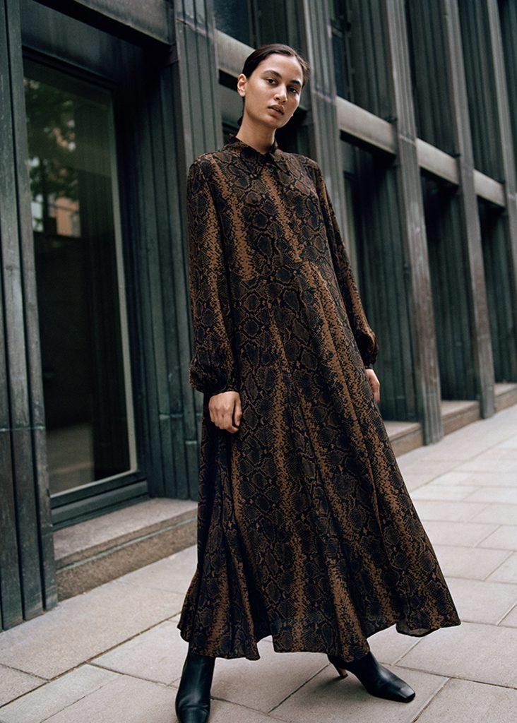 leopardklänning