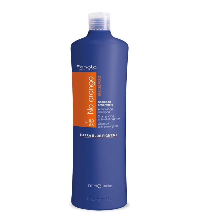 no orange blått pigment schampo