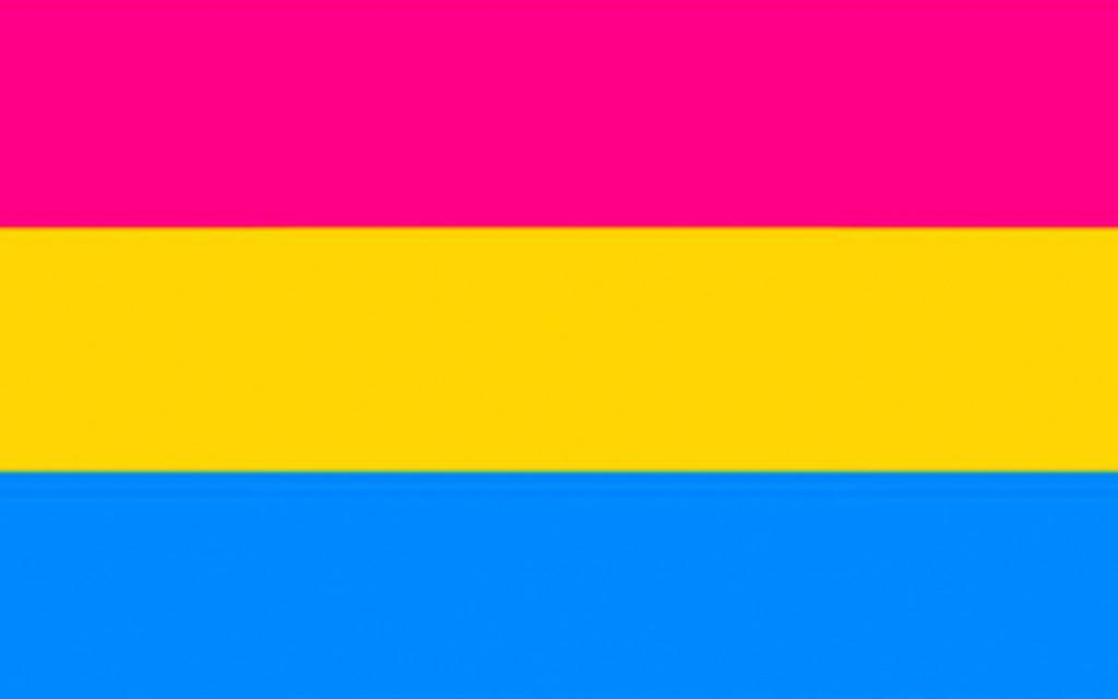 pansexuell flagga
