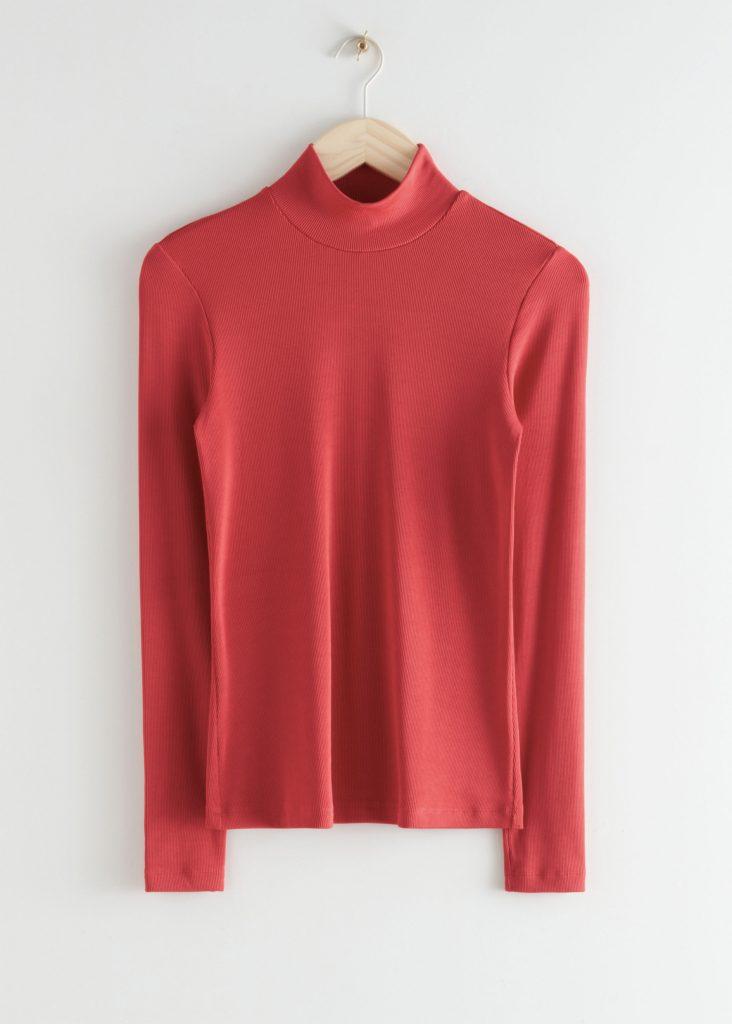 röd tröja