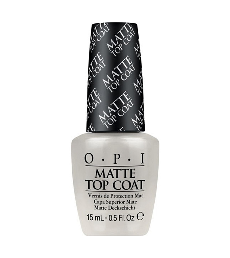 matt top opi nagellack