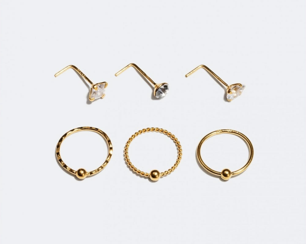 piercing septum näsa ring