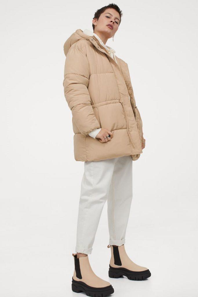 Beige jacka från H&M