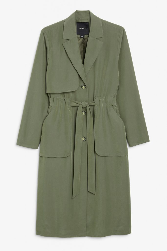 trenchcoat gron monki