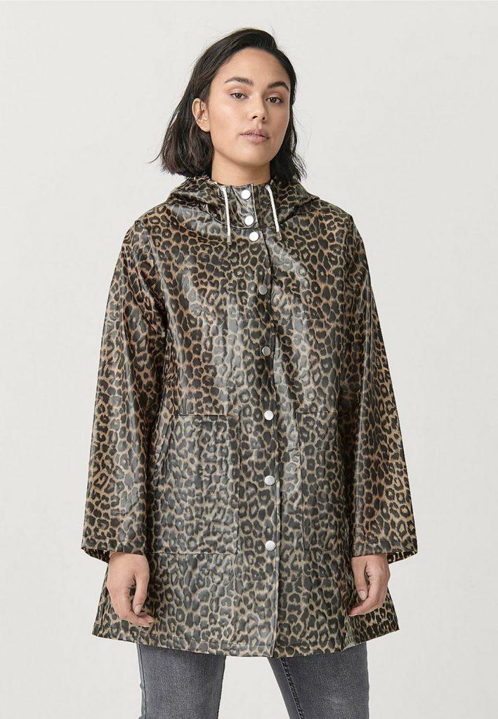 leopard regnkappa