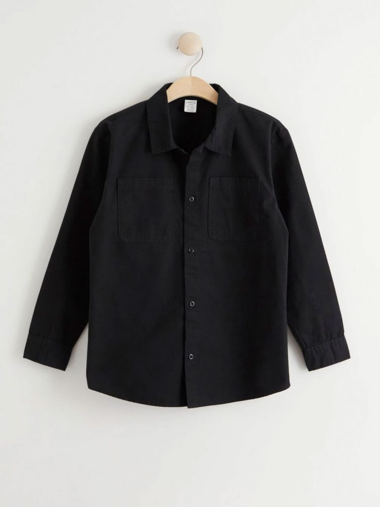 skjortjacka svart kort