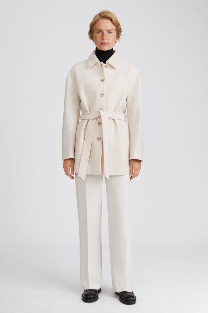 vit skjortjacka dam