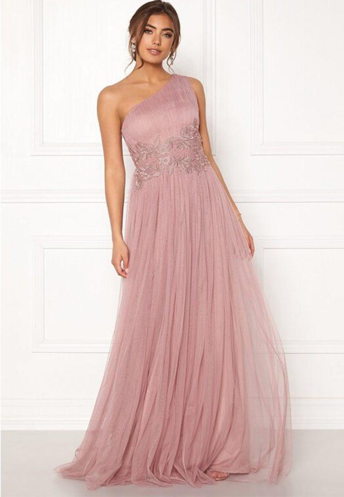 rosabalklänning